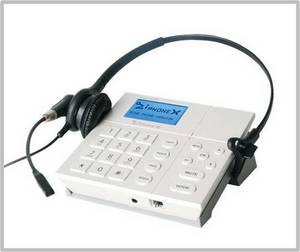 Wholesale sip ip phone: Call-recording IP Headset Phone (Ziphone X mini)