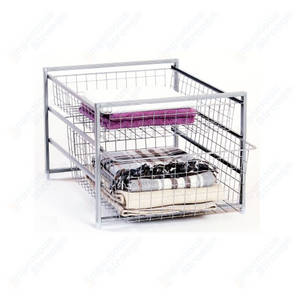 Wholesale drawer runners: Utility Wire Basket Drawer for Storage