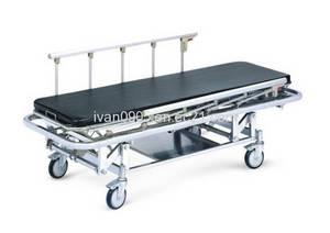Wholesale ambulance: Stainless Steel Medical Stretcher Trolley for Ambulance
