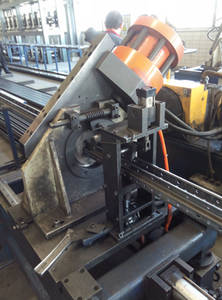 Wholesale omega: Stacking Omega Upright Roll Forming Machine, Hot Rolled or Cold Rolled Steel