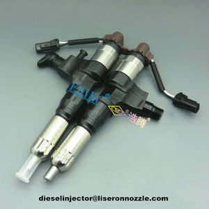 Wholesale common rail injector: Denso Common Rail Diesel Injector Assembly 095000-6395 for Hino Kobelco 350 Excavator