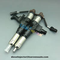 Denso Common Rail Diesel Injector Assembly 095000-6395 for Hino Kobelco 350 Excavator