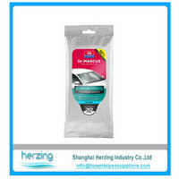 Disposable Auto Car Glass Cleaning Wipes