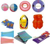 Sell air mattress,beach ball,swim ring, arm band