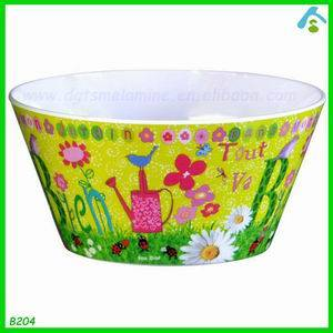 Wholesale salad bowl: Melamine Salad Bowl and Servers Melamine Salad Bowls