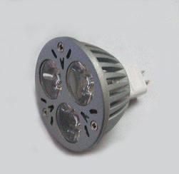led spot light: Sell MR16 GU5.3 3 High Power LED Bulb Spot Light Lamp 3W