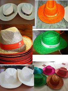 Wholesale Other Hats & Caps: Fedora Straw Hat/Lady Straw Hat/Cowboy Hat/Mexican Hat (RU)