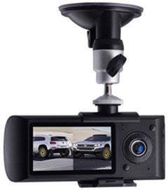 Wholesale box cameras: Dual Lens Car Camera (Car Black Box) with GPS