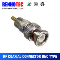 RG174/U BNC Plug Coaxial Cable Assemblies 50 Ohm Transmission Lines with Straight BNC Connectors