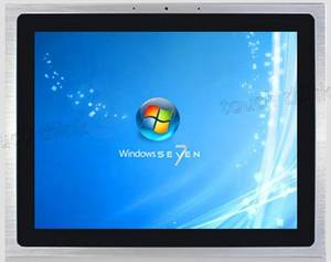 Wholesale panel pc: 10mm 15' Industrial LCD Touch Screen Panel PC