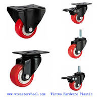 Sell small caster,light duty PU caster,shelf caster,funiture caster