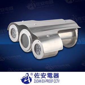 Wholesale mine explosion proof lamp: Flame Proof Stainless Steel Infrared CCTV Camera Housing