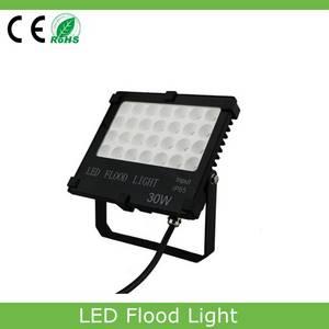 Wholesale led flood light: Slim Flood Light Outdoor Garden Lamp AC85-265V LED Flood Light 30w