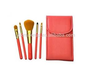 Wholesale makeup brush goat hair: High Quality Makeup Brush From China Factory with Cosmetic Bag