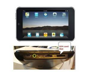 Wholesale 3g tablet pc: Factory 7 Inch Android 2.1 Wi-fi  Built-in 3G Tablet PC MID