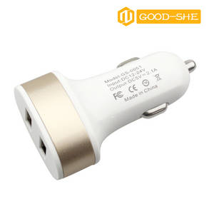 Wholesale car pc: 2016 New Dual USB Car Charger for Cellphone and Tablet PC,Car Charger with FCC/CE/RoHs Certificate