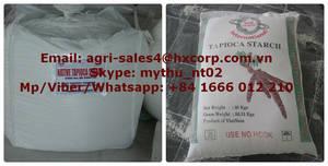 Wholesale food: Tapioca Starch GRADE1 - Use for Food Purpose