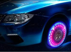 Wholesale solar light: Super Waterproof Solar Car LED Wheel Light 2015