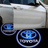 Car LED 3D Logo Door Lights,Custom Logo Available!
