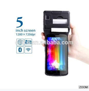Financial Equipment: Sell industrial 4g 5 inch 2d barcode scanner nfc rfid ufh pc tablet