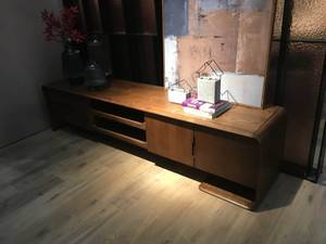 Wholesale TV Stands: Modern Simple TV Stand, Solid Wood Veneer TV Cabinet