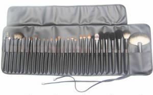 Wholesale makeup brush goat hair: 30pcs Makeup Brush Set