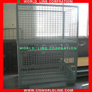 Sell heavy duty foldable steel mesh cage