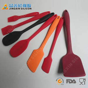 Wholesale Kitchen Knives & Knife Sets: Wholesale Kithenware Cooking Tools 100% Food Grade Eco-friendly Durable Silicone Spatula