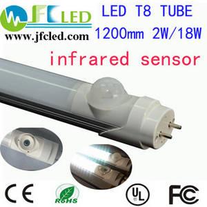 Wholesale auto sensor: LED Tube T8 1200mm Infrared Sensors G13 18W Auto-sensing LED Lamp Light 120cm 4ft Body Sensor LED