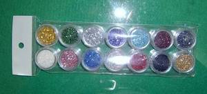 Wholesale glitter powder: Glitter powder for nail decoration