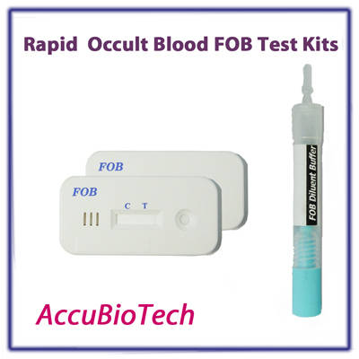 Rapid Occult Blood Fob Rapid Test Kits From Accubiotech Co