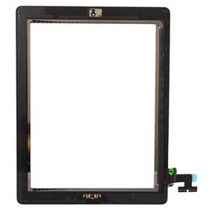 Wholesale panel pc: for  Ipad 2 3 4 Tablet PC Touch Screen Glass Panel Digitizer with Home Button & Adhesive