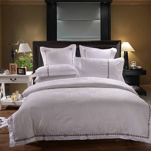 Wholesale bed sheets twin: Factory Made Luxury Bed Linen Turkey for Hotels