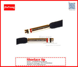 Wholesale Shoelaces: Super Quality Decorative Metal Shoelace Aglets