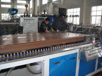 Sell Wood Plastic Board Production Line Plastic Machinery