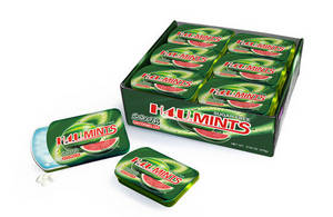 Wholesale candy tin: Xylitol Dental Candy in Slide Tin Box
