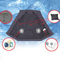 Cooling Vest with Cooling Fan