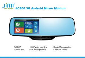 Wholesale monitor: JC900 3G Android Google Navigation Rearview Mirror Monitor