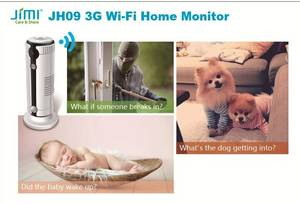 Wholesale alarm system: JH09 3G Wi-Fi Home Security Alarm Camera System