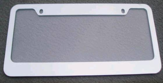 us license plate framelfzn2213blank image