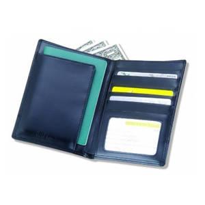 Wholesale purses: PU Leather Traveller Rfid Passport Purse Foldabl Holder Case