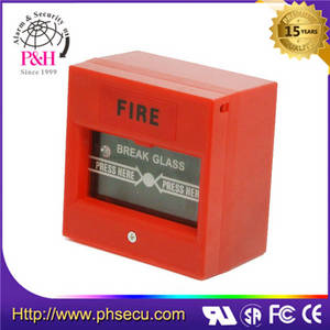 Wholesale alarm system: Conventional Break Glass Manual Call Point for Fire Alarm System