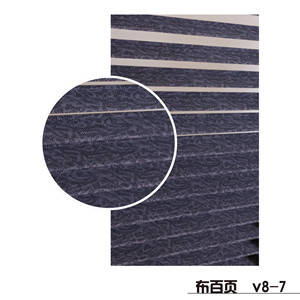 Wholesale Other Door & Window Accessories: Horizontal Printed Manual Cloth Venetian Blinds for Sun Shade