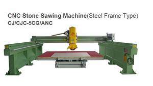 Wholesale Manufacturing & Processing Machinery Stock: Stone Sawing Machine (Steel Frame Type)  CJ/CJC-5CG/ANC