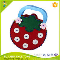 Wholesale non woven bag: DIY Latest Lovely Strawberry Non-woven Bags