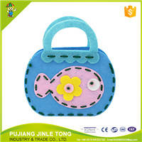 Wholesale Toy Parts: Pure Material Hot Fun DIY Nonwovens Toy Bag