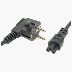 Wholesale power cord: VDE Certified Power Cords with Schuko Right-angled Plug and IEC C5 Connector