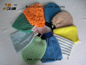 Wholesale microfiber: Microfiber Cleaning Glove