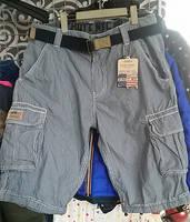 Men's Work Short, Causal Short, Stripe Short [JKH0014]