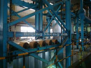 Wholesale coil winding nozzle: CGL1250 Hot Dip Galvanizing Production Line